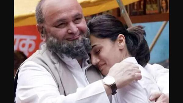 Taapsee Pannu Shares Favourite Photo With Rishi Kapoor 'Even In His Bullying There Was Love'