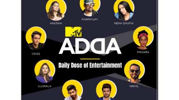 Rannvijay Singha, Neha Dhupia To Chat With Fans On #MTVAdda