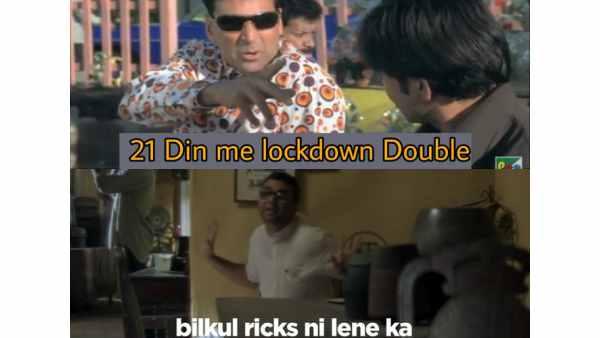 Best Bollywood Memes That Express Lockdown 2.0 Feels