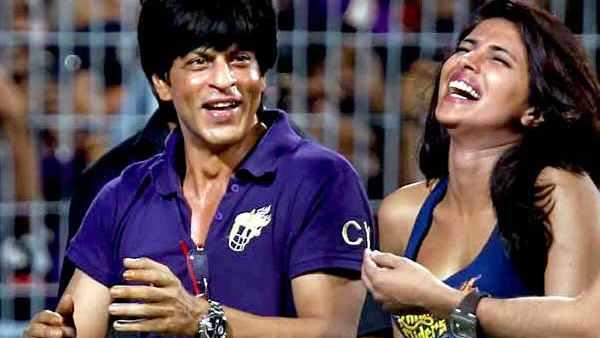 Priyanka Spotted Alongside SRK At All Events
