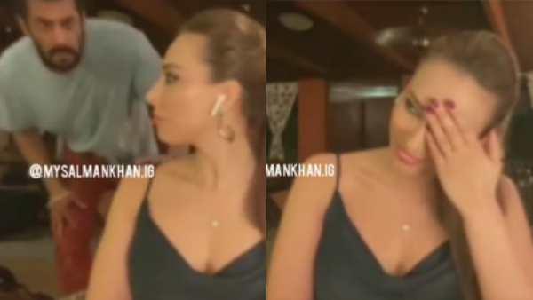 Salman Khan Sneaks In During Rumoured Girlfriend Iulia Vantur's Live Chat Session