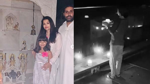 9PM 9 Minutes: Abhishek-Aishwarya Light Diyas At Home's Temple, Gauri Khan Shares AbRam's Video