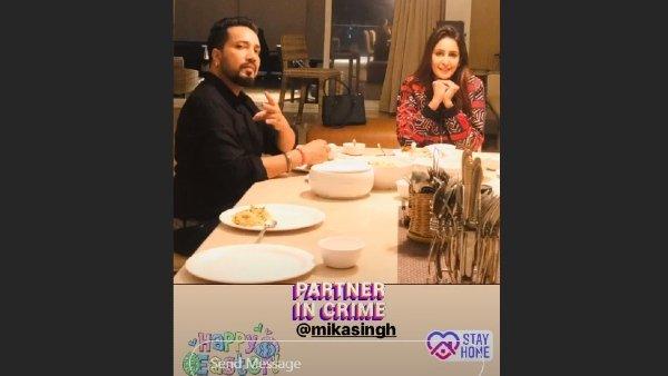 Mika Singh, Chahatt Khanna spark dating rumours, post about 'quarantine love'