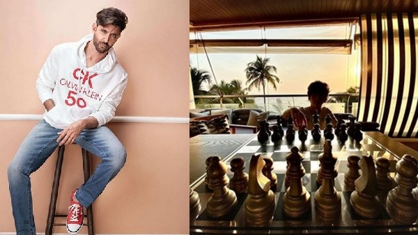 Hrithik Roshan Plays Chess With Son Amid Lockdown; Compares The Game With Fight Against COVID-19