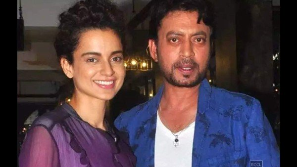 Kangana Ranaut On Irrfan Khan's Demise: He Was A Sucker For Life & Wanted To Live Every Moment