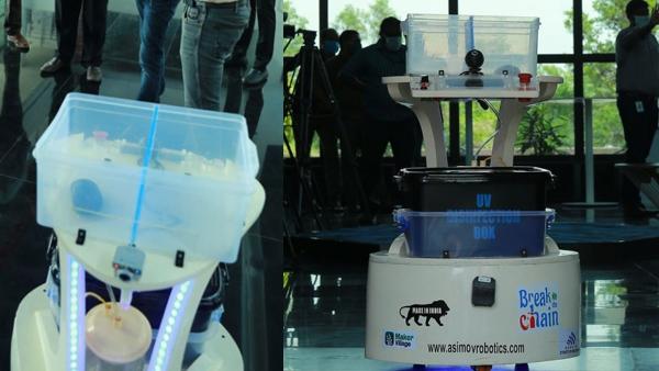 Mohanlal Donates Robot To The Coronavirus Ward Of Kalamassery Medical College Hospital!