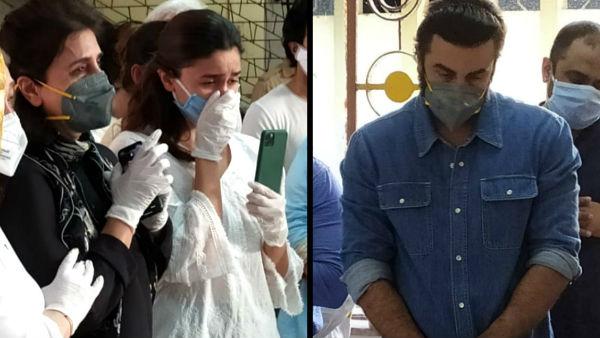 ALSO READ: Rishi Kapoor Funeral Pics: Ranbir Kapoor Stares Sadly; Neetu Kapoor, Alia Bhatt Break Down