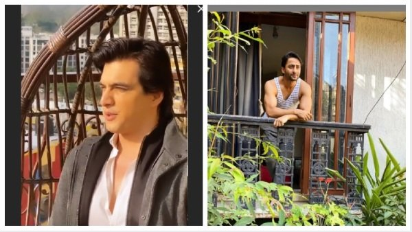 Mohsin & Shaheer Shoot For New Episodes At Home