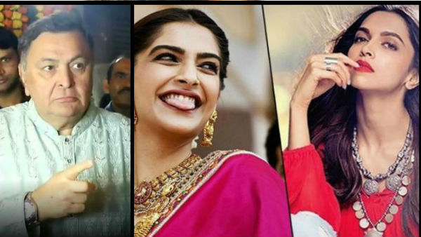 When Rishi Kapoor Slammed Deepika Padukone And Sonam Kapoor!
