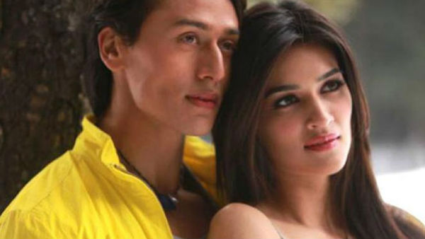 Tiger Shroff Thinks Kriti Sanon Is Out Of His League!
