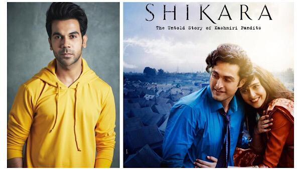Rajkummar Rao Praises Shikara Actors Aadil Khan And Sadia