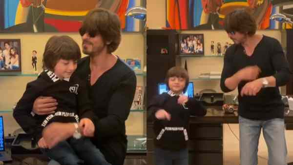 Shah Rukh Khan And Abram's Adorable Moments In 'Sab Sahi Ho Jayega' Video Are Unmissable