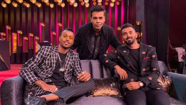 KWK-  Hardik Pandya and KL Rahul