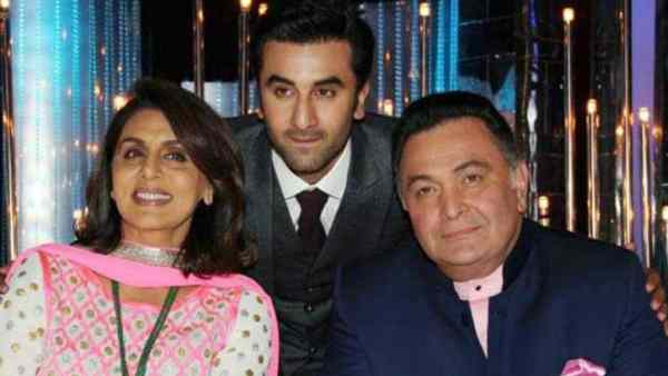 Neetu Kapoor Thanks Medical Staff For Taking Care Of Rishi Kapoor