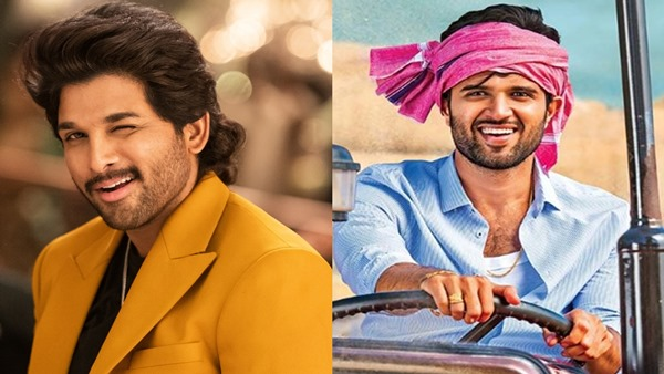 Allu Arjun and Vijay Deverakonda