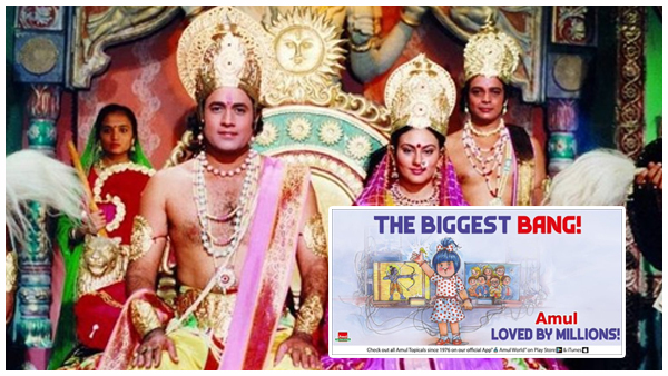 ALSO READ: Ramayan Fans Get Emotional after Channel Airs Last Episode; Amul Celebrates Show's Successful Re-Run