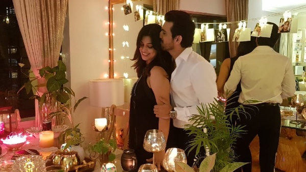 Arjun Bijlani And Neha Celebrate Their 7th Wedding Anniversary At Home In Style