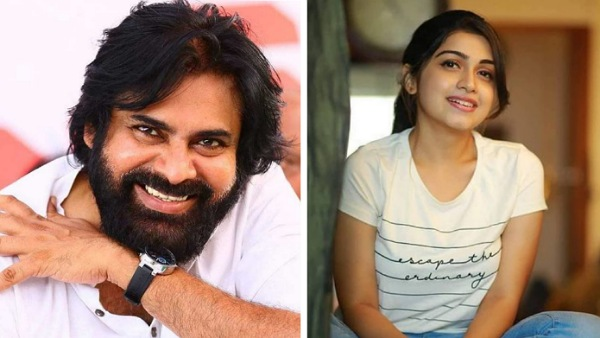 Manasa Radhakrishnan To Romance Pawan Kalyan In Harish Shankar's PSPK 28?