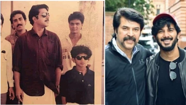 Mammootty-Dulquer Salmaan Duo's Throwback Picture Wins The Internet!