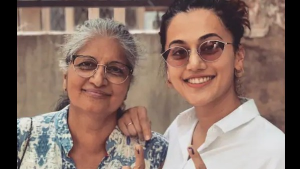 Taapsee Pannu's Mom On Her Daughter Having A Boyfriend: Whoever She Chooses For Herself, We Are Okay