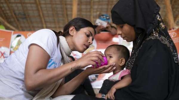 Priyanka On A UNICEF Tour
