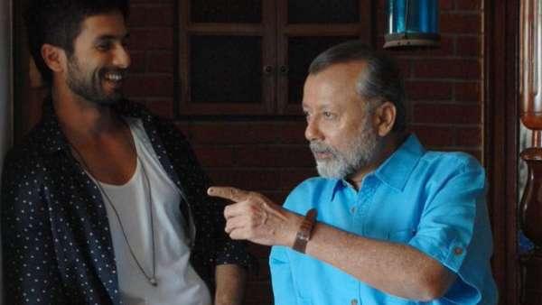 Shahid Kapoor On Working With Father Pankaj Kapoor
