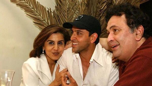 Hrithik Pays Touching Tribute To The Late Rishi Kapoor