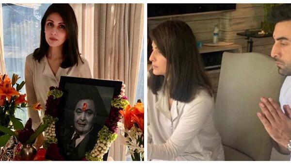 Rishi Kapoor's Prayer Meet: Riddhima And Ranbir Kapoor, Alia Bhatt, Karisma Kapoor And Others Attend