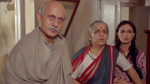 Anupam Celebrates 36 Years Of His Debut Movie Saaransh
