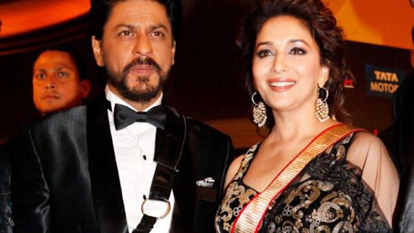 Shah Rukh Praises Madhuri's Singing; 'How Beautiful She Is'