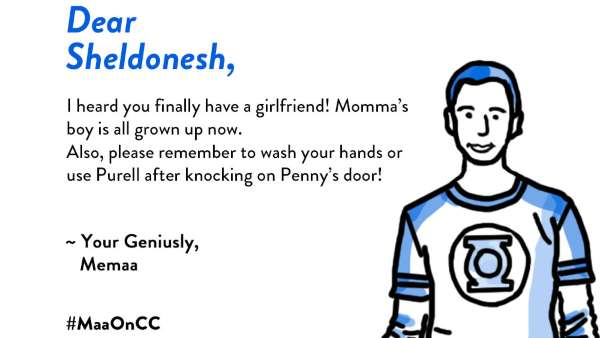 What If Sheldon, Chandler And Jake Had Desi Mothers?