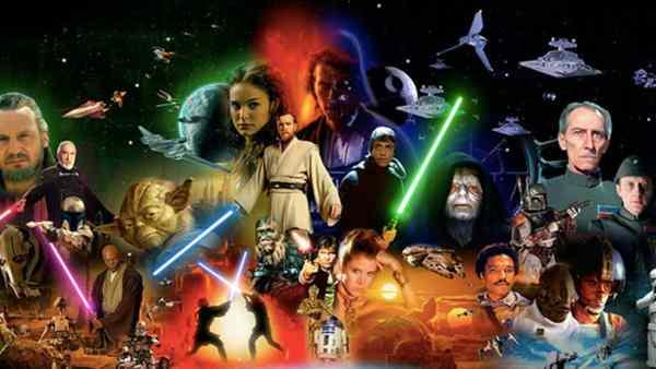 The Complete Star Wars Saga Order