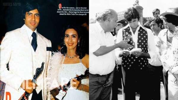 Amitabh Bachchan Celebrates 42 Years Of Don