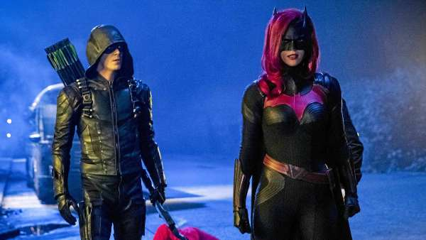 Batwoman With Arrow