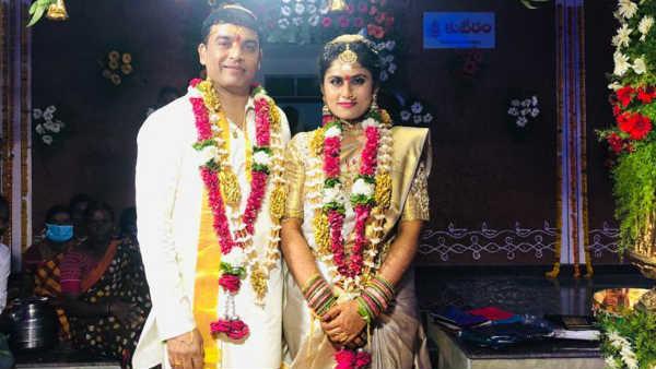 Dil Raju with wife