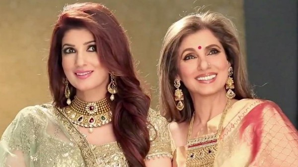 When Dimple Kapadia Made Fun Of Twinkle's Newly Done Highlights