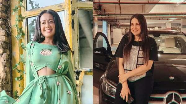 Neha Kakar And Himanshi Khurana