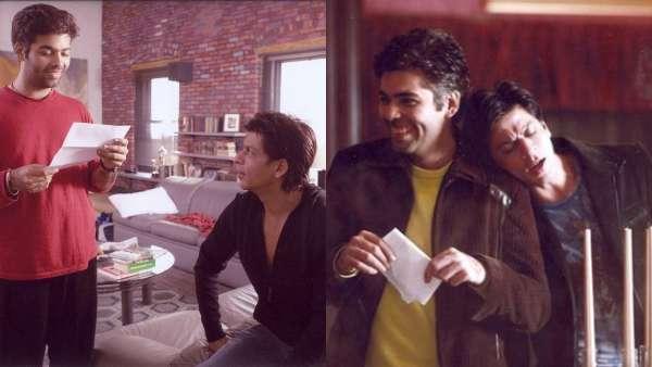 Karan Johar's HBD Wish For SRK