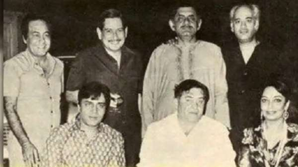 Yash Johar With Other Bollywood Biggies