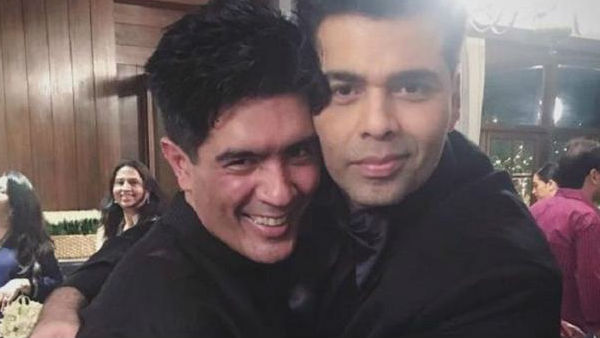 Manish Malhotra Sends An Unexpected Gift To Karan Johar
