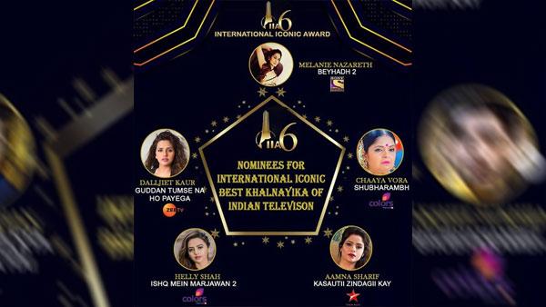 International Iconic Entertainer Of The Year & Best Khalnayika