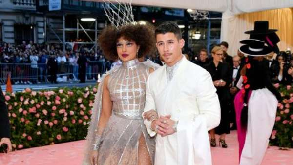 Priyanka Chopra And Nick Jonas At Met Gala 2019