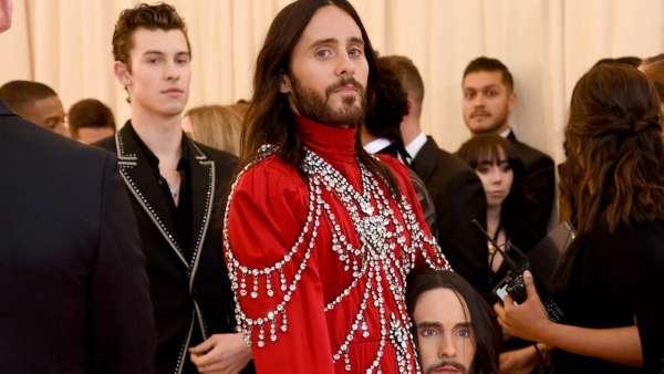 Jared Leto At Met Gala 2019
