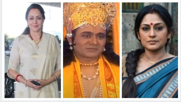 When Hema Malini And Roopa Ganguly Couldn't Recognise Nitish Bharadwaj In Parshurama Avatar