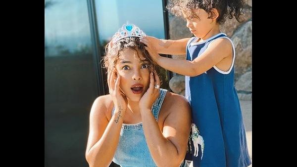 Priyanka Chopra Gets A Princess Makeover From Niece Krishna Sky; Their Pics Are Too Cute To Handle!