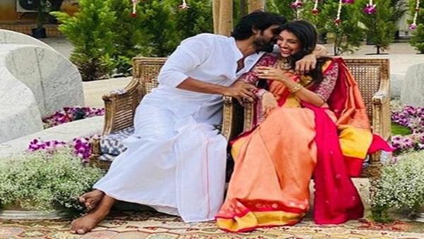 Rana Daggubati and Miheeka Bajaj's Engagement