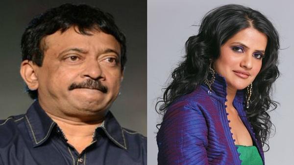 Ram Gopal Varma and Sona Mohapatra