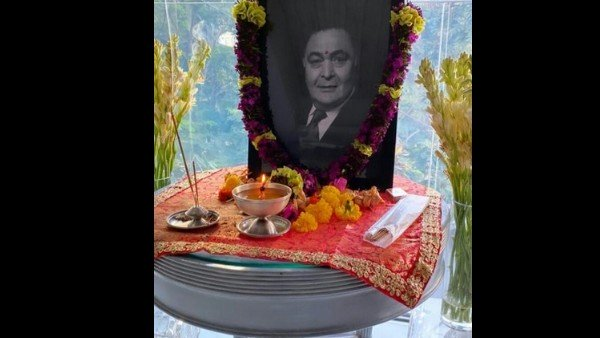 Rishi Kapoor's Son-In-Law Remembers Him With This Picture