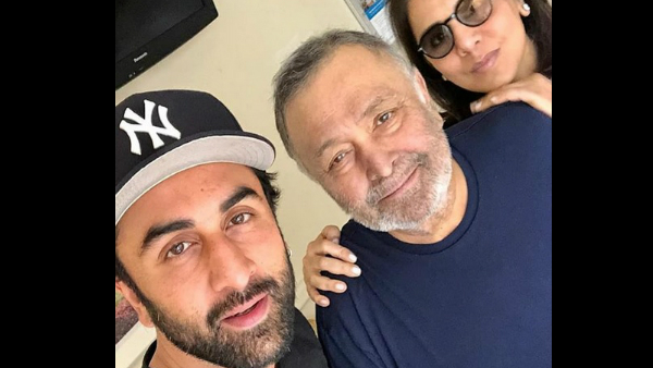 Rishi Kapoor's Family Is Putting On A Brave Front