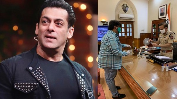 Salman Khan Donates Hand Sanitizers To Mumbai Police; Fans Impressed With His Kind Gesture!